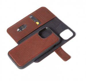 Decoded 2-i-1 lommeboketui for iPhone 12 Pro Max i brun