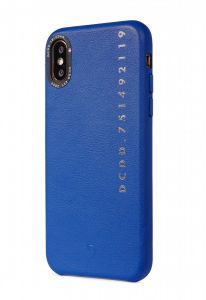 Decoded iPhone X/XS Skinndeksel - Blå