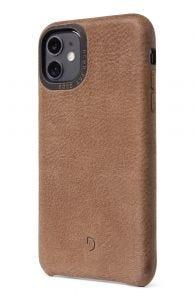 Decoded iPhone 11 nedbrytbart deksel - lærbrun