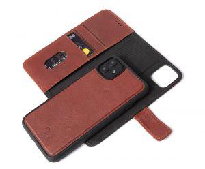 Decoded lommeboketui 2-i-1 til iPhone 11 - Brun
