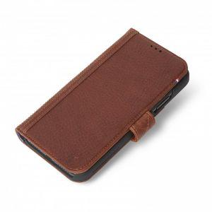 Decoded lommeboketui til iPhone XR - brun