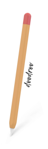 Doodroo deksel til Apple Pencil - Oransje/Rød
