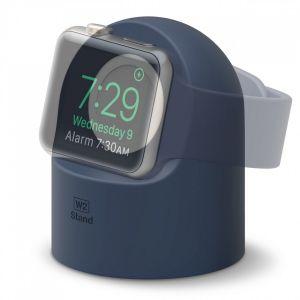 Elago W2 docking til Apple Watch - indigo
