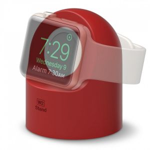 Elago W2 docking til Apple Watch - rød