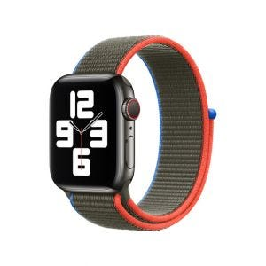 Apple Sport Loop 40/38 mm - Olivengrønn