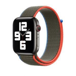 Apple Sport Loop 44/42 mm - Olivengrønn