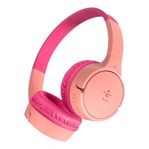 Belkin SoundForm Mini Kids Hodetelefoner - Rosa