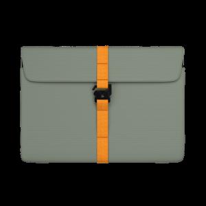 """Db The Världsvan 2.0 mappe til MacBook 16"""" - Salviegrønn"""