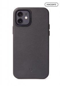 Decoded Backcover skinndeksel med MagSafe til iPhone 12 Mini - Svart