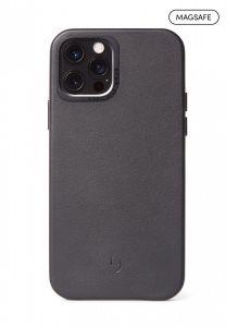 Decoded Backcover skinndeksel med MagSafe til iPhone 12 Pro Max - Svart