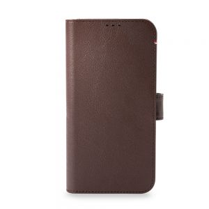Decoded Detachable Wallet MagSafe etui til iPhone 13 mini - Brun