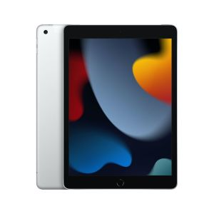 """iPad 10.2"""" Wi-Fi + Cellular 64GB - Sølv"""