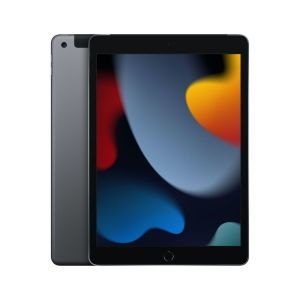 "iPad 10.2"" Wi-Fi + Cellular 64GB - Stellargrå"