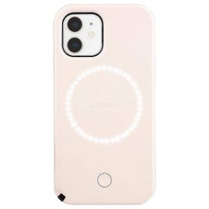 Lumee Duo Millennial deksel til iPhone 12 / 12 Pro - Rosa