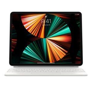 Magic Keyboard til 12.9-tommer iPad Pro (5. gen) - Hvit
