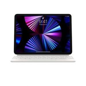Magic Keyboard til iPad Pro 11-tommer (3.gen) og Air (4. gen) - Hvit