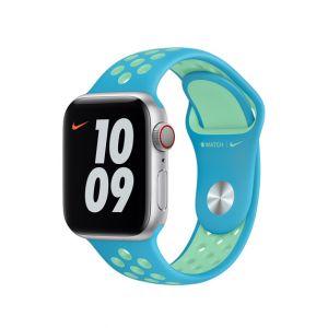 Nike Sport Band 40/38 mm - Klorinblå/Grønn glød