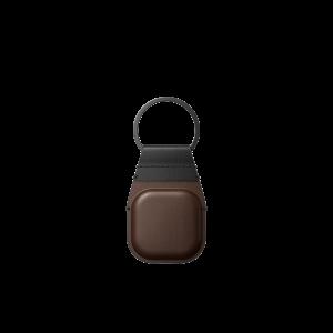 Nomad AirTag Keychain - Brun