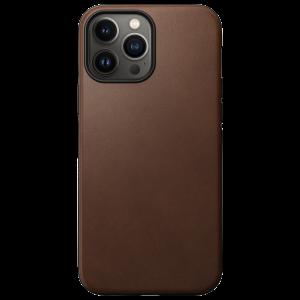 Nomad Modern Case MagSafe skinndeksel til iPhone 13 Pro Max - Brun
