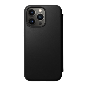 Nomad Modern Folio MagSafe etui til iPhone 13 Pro Max - Svart