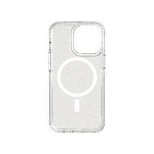 Tech21 EvoSparkle MagSafe deksel til iPhone 13 Pro - Sølv
