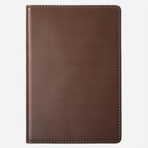 Nomad Traditional Passport lommebok til pass med sporebrikke - Brun
