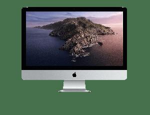 iMac 27-tommer med Retina 5K-skjerm 3,8GHz i7 med 16 GB minne og numerisk tastatur (US)