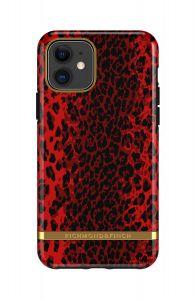 Richmond & Finch deksel til iPhone 11 - Red Leopard