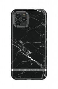Richmond & Finch deksel til iPhone 11 Pro Max - Black Marble/Silver