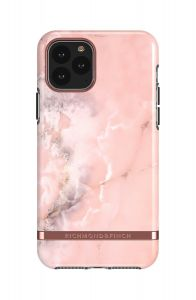 Richmond & Finch deksel til iPhone 11 Pro - Pink Marble/Rose