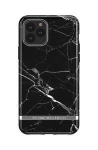 Richmond & Finch deksel til iPhone 11 Pro - Black Marble/Silver