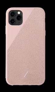 Native Union Clic Canvas deksel for iPhone 11 Pro Max - Rosa
