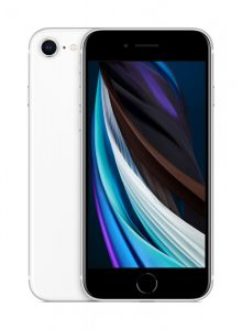 iPhone SE 128GB - Hvit