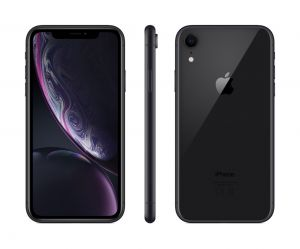 iPhone XR 128 GB - svart