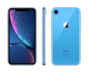 iPhone XR 128 GB - blå