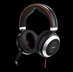 Jabra Evolve 80 UC Stereo hodetelefoner