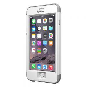 LifeProof iPhone 6 Plus-deksel: NÜÜD - hvit