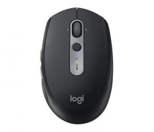 Logitech M590 lydløs mus - grafittgrå