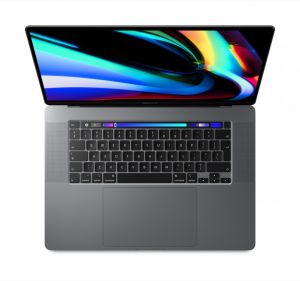 MacBook Pro 16-tommer med Touch Bar 2,3 GHz 1TB i stellargrå