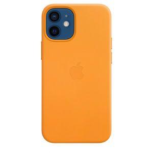 Apple Skinndeksel med MagSafe for iPhone 12 Mini - Gullvalmue