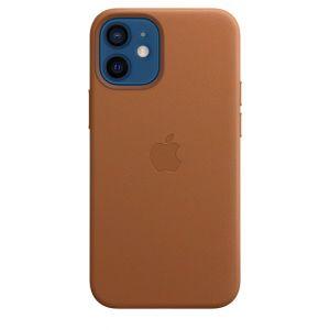 Apple Skinndeksel med MagSafe for iPhone 12 Mini - Lærbrun