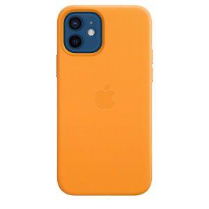 Apple Skinndeksel med MagSafe til iPhone 12 / 12 Pro - Gullvalmue