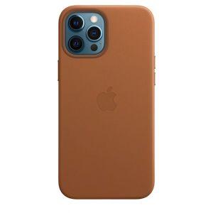 Apple Skinndeksel med MagSafe for iPhone 12 Pro Max - Lærbrun