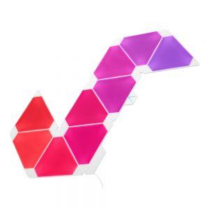 Nanoleaf Light Panels Smarter Kit – Rhythm Edition 9 lyspanel