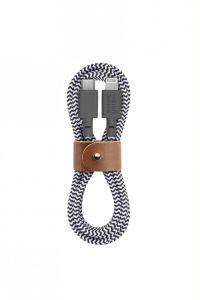 Native Union Belt Cable USB-C til Lightning 3m