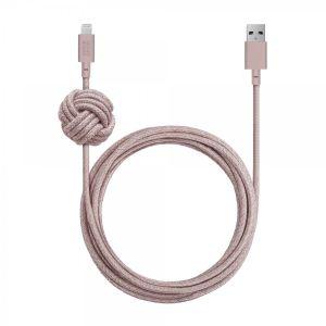 Native Union 3 m Lightning Night kabel - Rosa