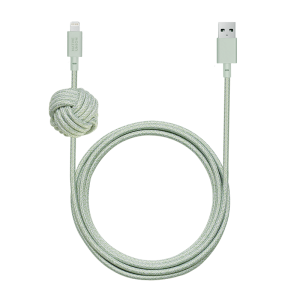 Native Union Lightning Night Cable 3 m - Grønn