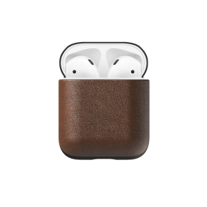 Nomad AirPods skinnetui - Brun