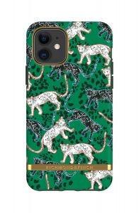 Richmond & Finch etui til iPhone 11 - Grønn leopard