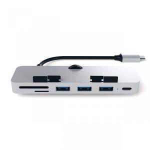 Satechi USB-C Clamp Hub Pro - Sølv